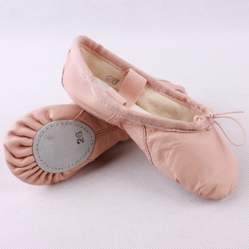 Pig Skin Split Sole Ballet Shoes