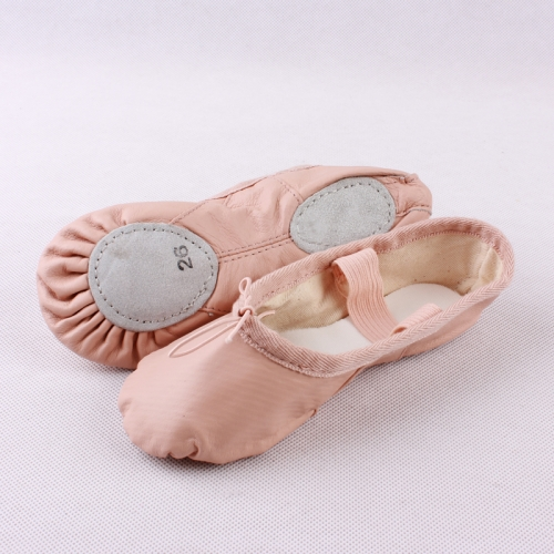 Sheep Skin Split Sole Ballet Shoes