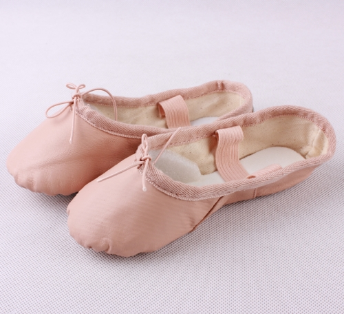 Sheep Skin Full Sole Ballet Shoes