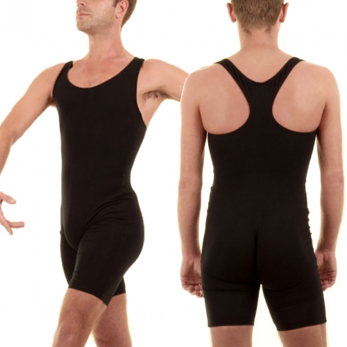 Men's Racer Back Short Tank Unitard