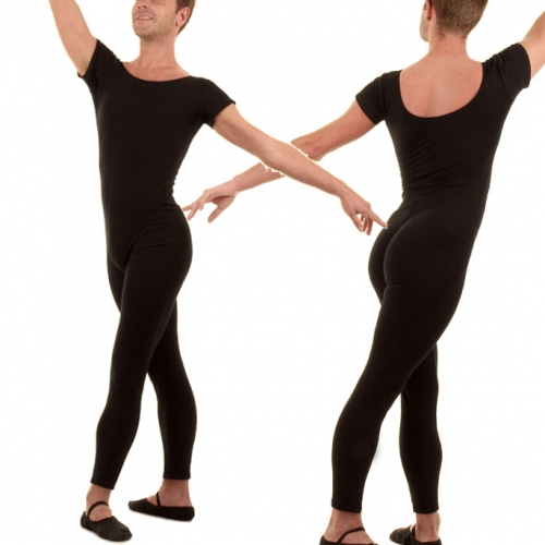 Men's Short Sleeve Unitard