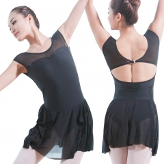 Adults Mesh Sleeve Leotard