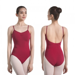Adult Camisole Gathered Back Leotard