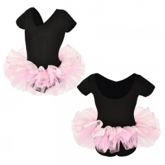 Child Two Tone Short Sleeve Tutu