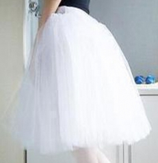Adult Romantic Tutu Skirt