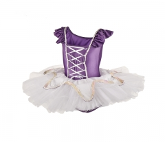 Child Short Sleeve Tutu Costume