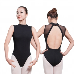 Adult Open Back Mesh Leotard