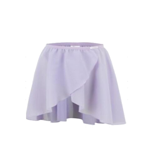 Child Chiffon Mock Wrap Skirt