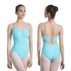 Twist Back Camisole Leotard