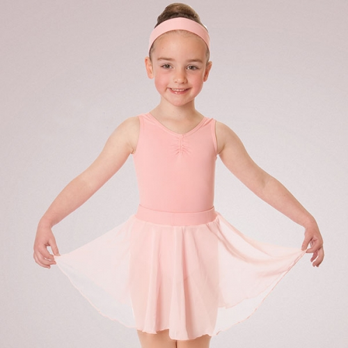 Child Full Circle Chiffon Skirt