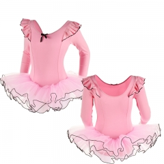 Child Flutter Long Sleeve Tutu