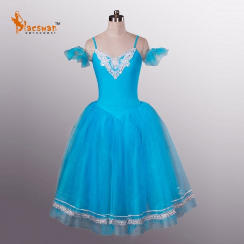 Kids Nutcracker Costume Blue Party Dress