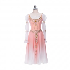 Swan Lake Pas De Trois Costume Fading Pink Dress